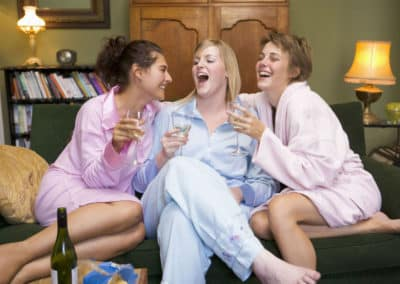 Plan Your Girlfriend Sleepover for Showers, Birthdays, Engagements at A Vista Villa Couples Retreat in Kelowna, BC