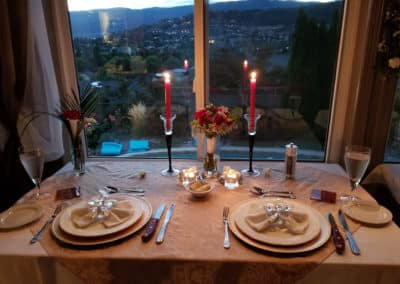 elopement dinner