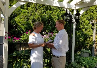 Take your wedding vows in a gorgeous outdoor setting in beautiful British Columbia