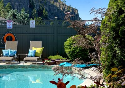 Lounging by the pool is one of the fabulous ways for couples to relax